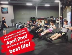 Don't wait to live your BEST life! Sign up for April Best Beginner Program!